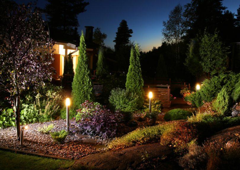 Resultado de imagem para Luminárias para Jardim