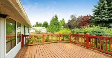 Decks de madeira para jardins
