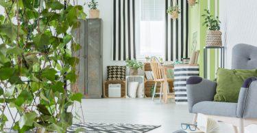 Jardins suspensos em apartamentos